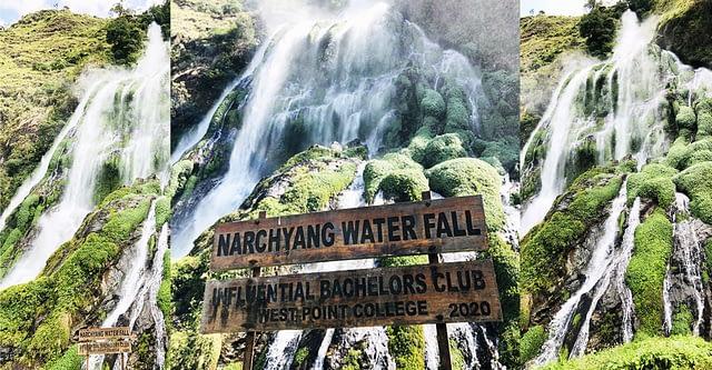 नारच्याङ झरना (Narchyang Waterfall)