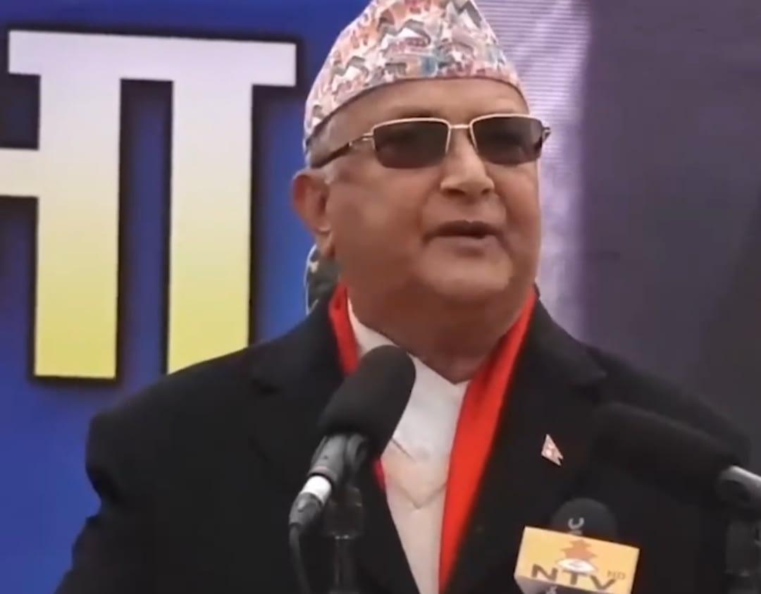 सक्कली नेकपा हामी हौँ : प्रधानमन्त्री ओली