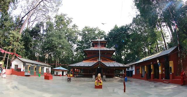 बागलुङ भगवती मन्दिरका तस्वीरहरु