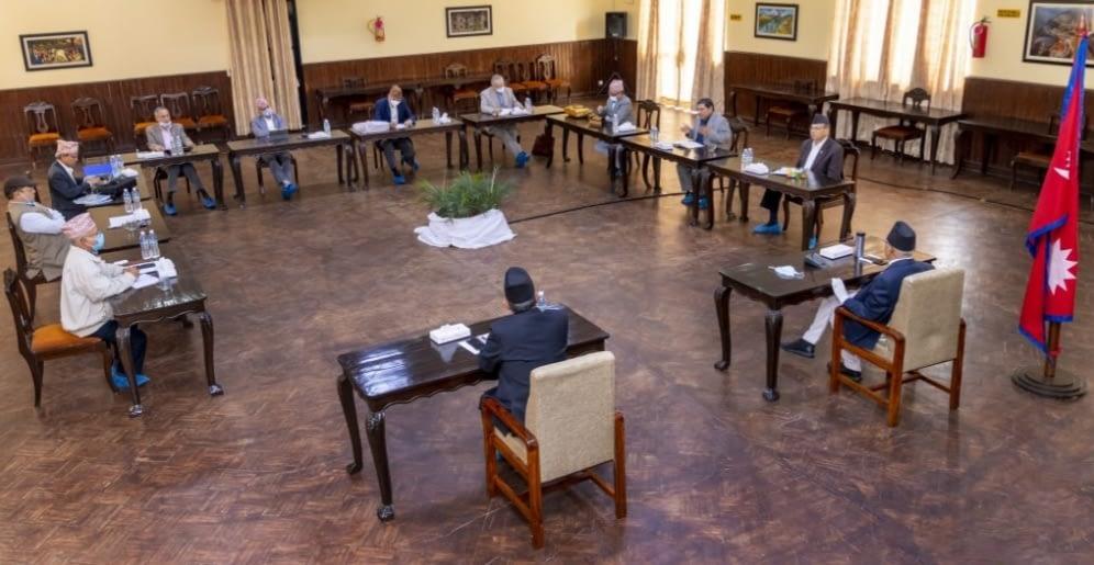 नेकपा सचिवालय बैठक सुरु