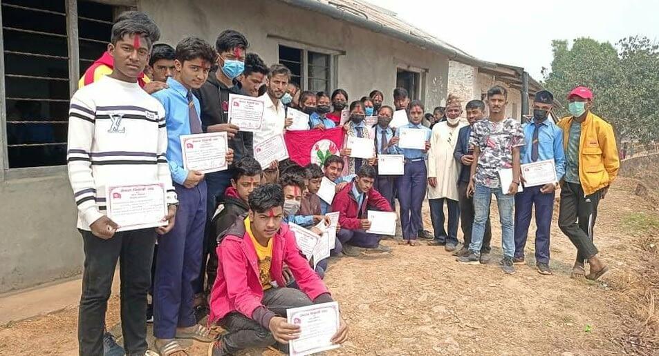 नेपाल विद्यार्थी संघ फलेबास नगरकार्यसमितिको संगठन बिस्तार