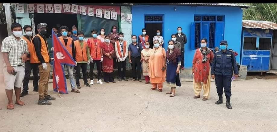 खाद्यान्न सहयोग सहित पीडित घर घर मा पुग्यो शिव सेना नेपाल बाग्लुङ