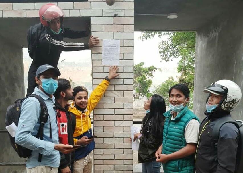 विद्यार्थी संगठनकाे प्रेस विज्ञप्ति, के भन्छन  विद्यार्थी नेता ?