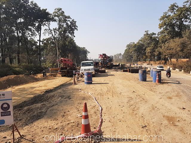 बुटवल–नारायणगढ सडकखण्ड विस्तारको काममा ढिलाइ