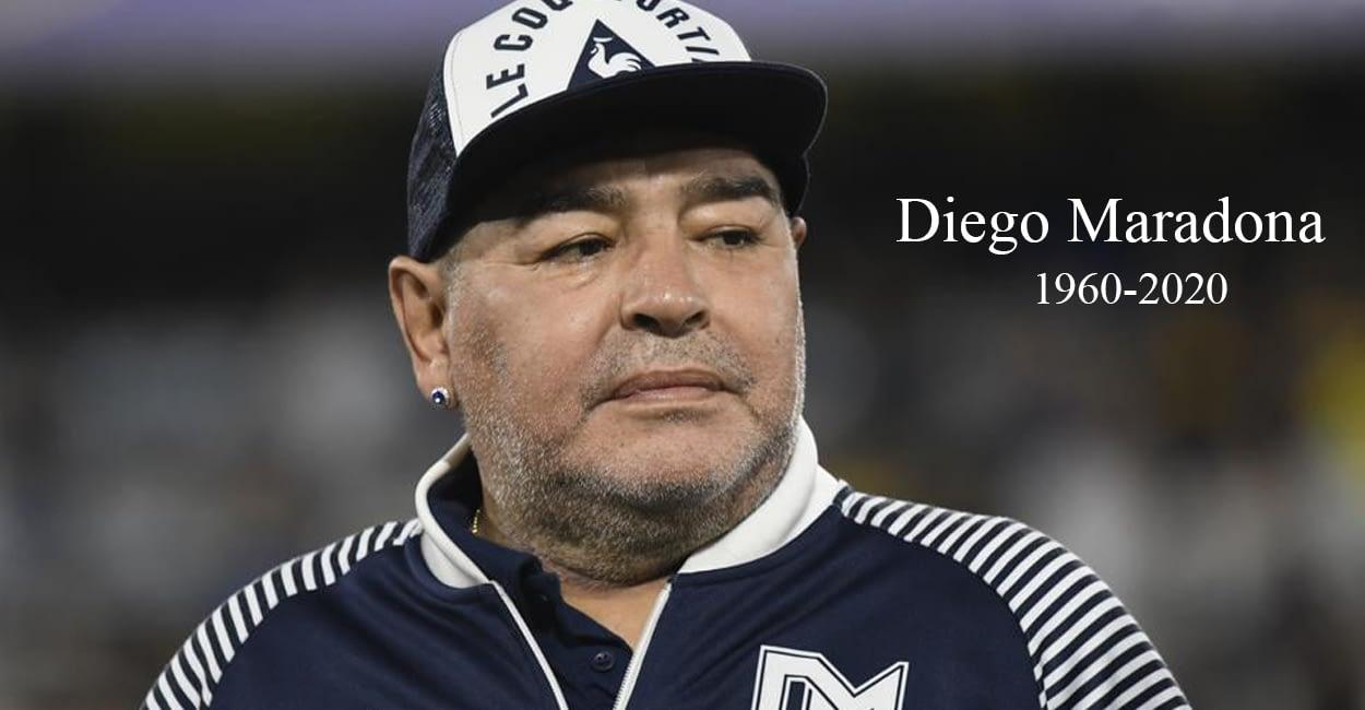 चर्चित फुटबलर डिएगो म्याराडोनाको ६० वर्षको उमेरमा निधन