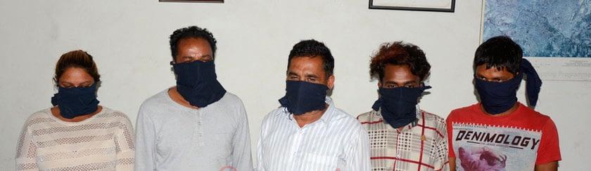 ३ किलो सुनसहित भारतीय नागरिक पक्राउ