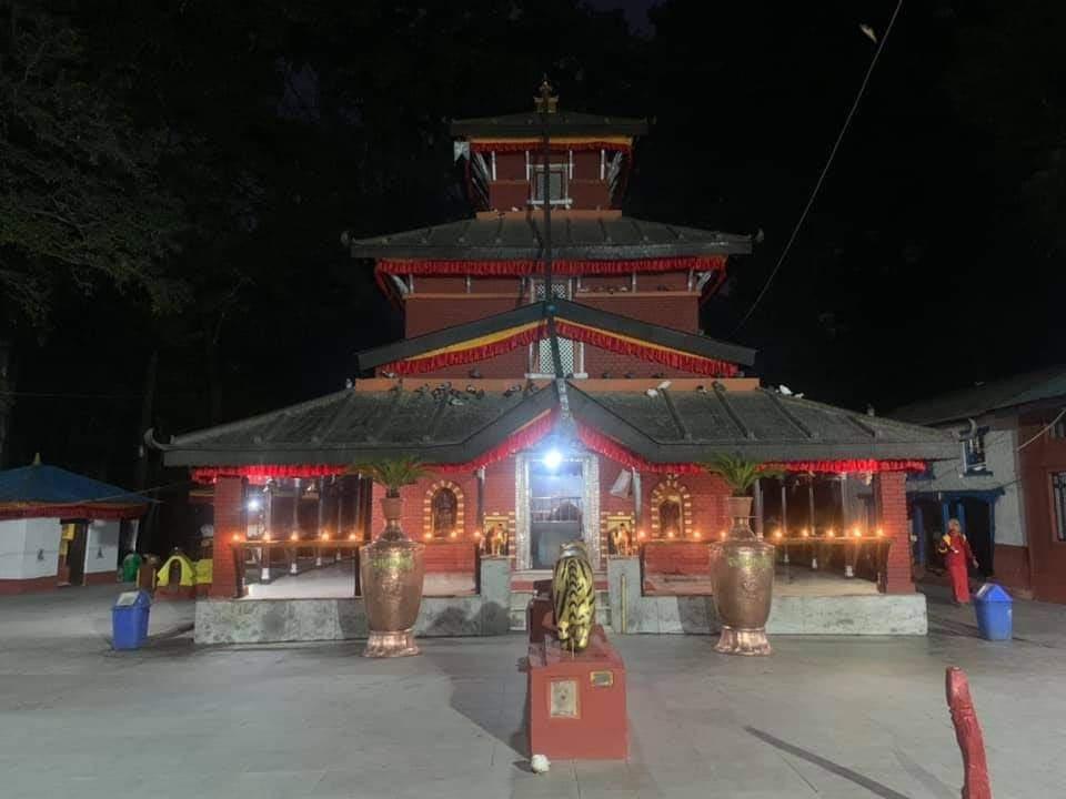 आजदेखि बागलुङ कालिका मन्दिर खुल्ने